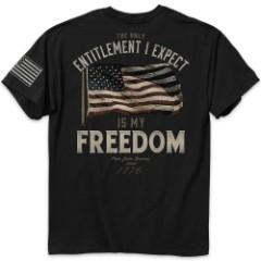 Entitlement Men's Black T-Shirt