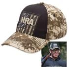 Buckwear NRA Tan Digital Camo USA Cap – Hat