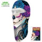 Sugar Skull Fleece Face Mask – Heavy-Weight