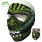 King Of Lizards Neoprene Face Mask