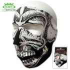 Black And White Skull Neoprene Face Mask