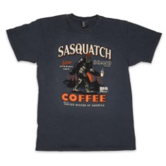 Sasquatch Coffee Normandy Gray T-Shirt