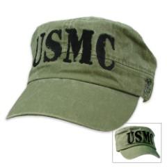 USMC Flat Top Cap
