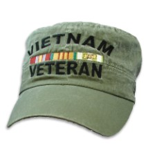Vietnam Veteran Flat Top Cap - Hat
