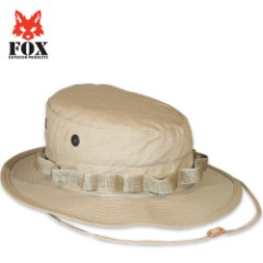 Fox Rip Stop Boonie Hat Khaki