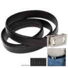 IdeaWorks One Size Fits All / Custom Fit Belt - Black