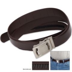 IdeaWorks One Size Fits All / Custom Fit Belt - Brown