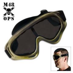 M48 Gear Tactical Wind Goggles Tan