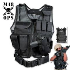 M48 Ops Tactical Cross Draw Vest