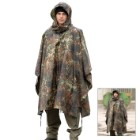 Mil-Tec Flectar Camo Ripstop Wet Weather Poncho
