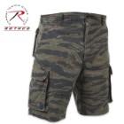 Vintage Paratrooper Cargo Shorts Tiger Stripe