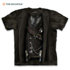 The Sheriff Black T-Shirt – Pre-Shrunk 100 Percent Cotton, Soft Feel, Classic Fit, Hand-Dyed, Reinforced Stitching