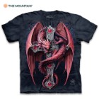 Gothic Guardian Black T-Shirt – Pre-Shrunk 100 Percent Cotton, Soft Feel, Classic Fit, Hand-Dyed, Reinforced Stitching