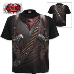 Black Holster Wrap – Allover T-Shirt