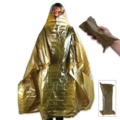 Swiss Military Surplus Emergency Poncho