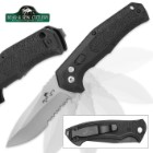 Bear Ops Bold Action Auto Serrated Pocket Knife