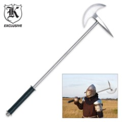 Replica Battle Axe with Spiked Axe Head