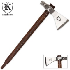 Replica Tribal Peace Pipe Tomahawk Axe