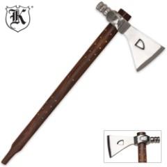 Replica Tribal Peace Pipe Tomahawk Axe