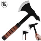 U.S. 1942 Combat Survival Axe With Sheath