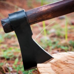 High Carbon Steel Throwing Axe