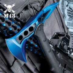 M48 Blue-Coated Tactical Tomahawk Axe