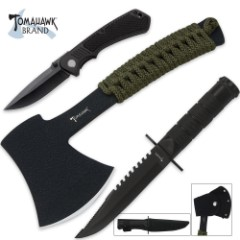 Tomahawk Three-Piece Survival Set