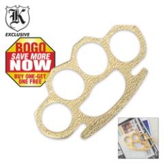 Brass Paperweight Gold BOGO