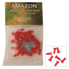 .50 Cal Blowgun Stun Darts 25 Per Pack