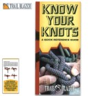 Trailblazer Know Your Knots Quick Reference Guide - Compact Folding Guide, Laminated, Detailed Illustrations, Easy-To-Follow Instructions