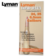 Lyman Load Data Series 24, 25, 6.5 MM Rifle Calibers