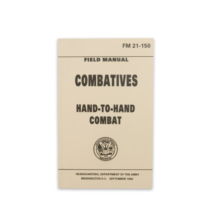 military hand to hand combat manual pdf