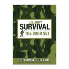 U.S. Army Survival Card Set