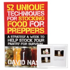 52 Unique Techniques For Stocking Food For Preppers Book