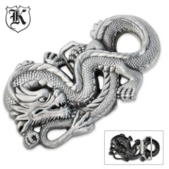 Dragon Cast Zinc Alloy Oversized Belt Buckle