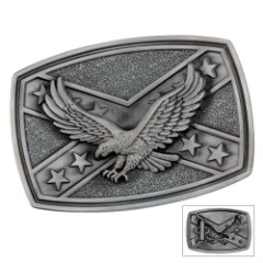 Eagle Flag Belt Buckle