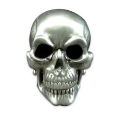3-D Skull Belt Buckle
