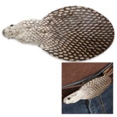 Genuine Cobra Head Belt Buckle