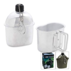 Trailblazer 1-Quart Aluminum Canteen Kit