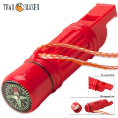 5-In-1 Compass Survival Tool