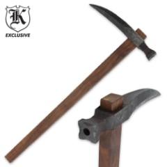 Hand-forged War Hammer