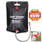 Trailblazer 5-Gal Solar Heater Camping Shower - BOGO
