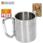 Trailblazer Stainless Steel Mug With Carabiner