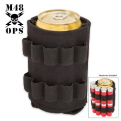 M48 OPS Tactical Can Koozie – Black