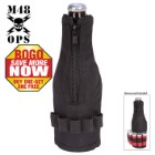 M48 OPS Tactical Bottle Koozie - Black - BOGO