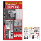 Secure Pro A Beginner's Guide To Lockpicking – Compact Folding Guide, Laminated, Detailed Illustrations, Easy-To-Follow Instructions