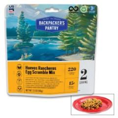 Huevos Rancheros Egg Scramble Mix - All-Natural Ingredients, High-Protein, Just Add Water, Minimal Cooking, Ten-Year Shelf-Life