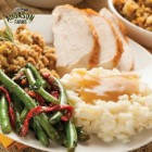 Auguson Farms Turkey Feast Pail – 52 Servings, Complete Turkey Dinner, Individual Mylar Pouches – Up To 20 Year Shelf Life