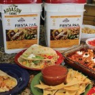 Augason Farms Fiesta Pail – 196 Servings Of Mexican Food, Individual Mylar Pouches, Breakfast, Lunch And Dinner, Up To 30 Year Shelf Life