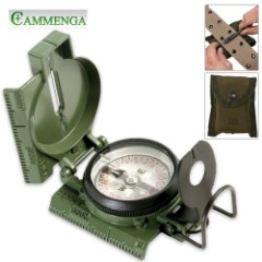 Cammenga Lensatic Compass OD Phosphorescent